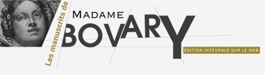 Logo for Les Manuscrits de Madame Bovary